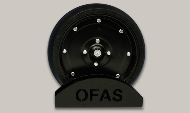 O.F.A.S. Spa | Rubber steel wheels for seeder machinery