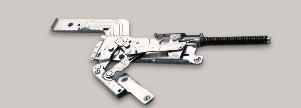 MECHANICAL HINGES FOR HOUSEHOLD APPLIANCES